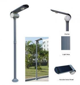 6W Amorphous Flexible Solar Garden Light(7-Color Infrared Induction)