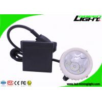 China GL5-A Rechargeable Mining Cap Lamp , Industrial Miner Light with 22 Hours Lighting Time on sale
