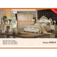 China new Import antique luxury italian european bedroom furniture set wholesale