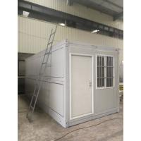China Anti Sesmic Modular Folding Container House With Sandwich Panel Wall / Roof wholesale