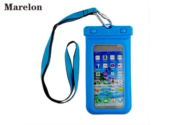 Quality Galaxy S5 Waterproof Phone Case Smartphone Bag TPU Material 116*190*18mm for sale