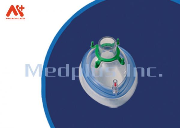 Hospital Safety Single Anesthesia Face Mask Disposable For Infant / Neonatal