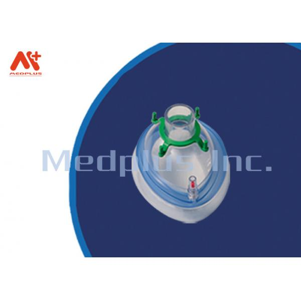 Quality Hospital Safety Single Anesthesia Face Mask Disposable For Infant / Neonatal for sale