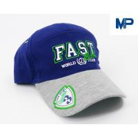 China Plain Embroidery Cotton Customize Baseball Hats 6 Panel With Mesh Back on sale