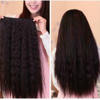 China Queenlike Tangle Free 1B remy clip in hair extension 20 Clips 8 Pieces wholesale