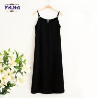 China Women retro simple model black underdress brand lady summer women dress dresses sexy for sale wholesale