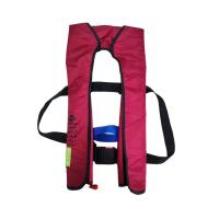 China Self Floating Military Safety Vest , 33g Co2 Inflatable Fishing Vest wholesale