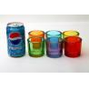 China Votive Candle Glass Cups Decorative Drinking Bar Transparent Custom Logo Color wholesale