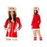 China DA roja bombardea el velo rojo atractivo adulto 2pcs de Costumess del partido del hámster para el carnaval wholesale