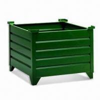 China Corrugated Rigid Container, Powder-coated, Customized Designs are Accepted wholesale