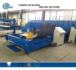 China Automatic Hydraulic Crimping Machine / Corrugated Roofing Sheet Curving Machine wholesale