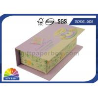 China Customized Hinged Lid Printed Rigid Gift Box For Eyeliner Beauty Products wholesale