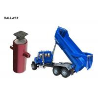 Buy cheap 3 4 5 Stage Telescopic Single Acting Dump Truck Hydraulic Cylinder for Trailer from wholesalers