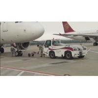 Reliable Airport Tow Tractor Four Wheel Steering , Ground Service Equipment