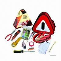 China Roadside Auto Emergency Tool Kit/Vehicle First Aid Tool Kit for Car wholesale