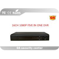 Buy cheap 16ch 1080 P Non Real Time Encoding Ahd Cctv Dvr Video Recorder H.264 For Mobile Monitoring from wholesalers