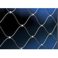 China Woven Technique and Protecting Mesh Application Stainless Steel Cable Webnet wholesale