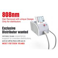 China Vertical 808nm Diode Laser Hair Removal Machine With Germany Laser 3 - 40 J/Cm2 wholesale