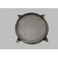 China Round Type Waffle Speaker Grill Mesh , Metal Grill Mesh Size Customized wholesale