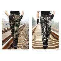 China Military Camouflage Pants For Field Training , Camo Cargo Pants For Men on sale