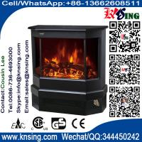 Electric Fireplace Heater 3 Sided Freestanding electric Stove EF330 Log flame effect comfortable warm room heater