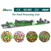 China Automatic Pet Food Extruder Machine for dog , cat , fish wholesale