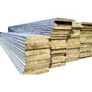 China Fireproof Rock Wool Sandwich Wall Panel wholesale