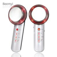 China 3 In 1 Multifunction Beauty Machine Body Slimming Massager 1 Mhz Vacuum Dermabrasion on sale