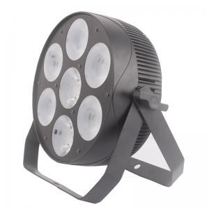 China Alumlium DMX512 7PCS 30W 4 In 1 LED Par Can Lights wholesale