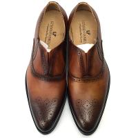 China Italy Handmade Leather Men Formal Dress Shoes Oxford Office Shoes wholesale