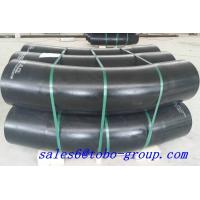 China Black Color Stainless Steel Tube Elbows 1/2 - 24 Inch Pipe Fittings SCH10 - SCH160 wholesale