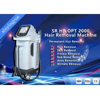 China FDA Approval Beauty Salon Equipment SHR Elight Hair Removal Machine With Two Handles wholesale