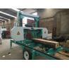 China Mobile Lumber Sawing Band Saw Sawmill MJ1000 portable horizontal band sawmill cutting dia.1000mm wholesale