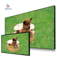 China 1080p LCD Multi Screen Video Wall Cabinet Free Stand Advertising Monitor wholesale