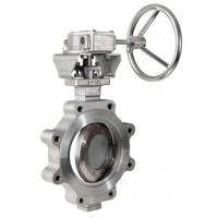 Stainless Steel Butterfly Valve Zero Leakage WCB CI Material OEM Service