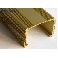 China Anodized Aluminum Extrusions For Electronics , With Finished Machining on sale