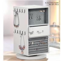 China High-end pu leather pandora jewelry display for jewelry shop design on sale