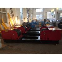 China 160 Tons Conventional Pipe Turning Rollers Hand Control Box / Foot Pedal Control wholesale
