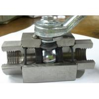 China 3 PC Female Thread Casting Steel Ball Valve PN420-442A,PN500-44 on sale
