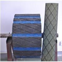 China Belt conveyor drive pulley weld on rubber lagging for cement plant wholesale