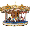 China Amusement Rides Machine Mini Fairground Rides Small Carousel for Sale wholesale