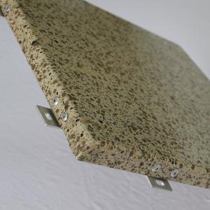 China Aluminium curtain wall marble metal materials interior wall paneling wholesale