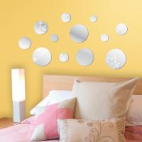 China PS mirrored wall sticker wholesale