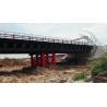 China Double lane Bailey Bridge / Modular Steel Panel Bridge/ steel truss modular bridge wholesale