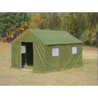 China Waterproof Canvas Earthquake Disaster Refugee Waterproof  Emergency Shelter Tent wholesale