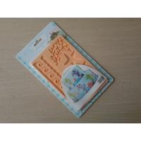 China 3D Harmless Recycled Silicone Fondant Mould 20*12.5*0.8cm For Dishwasher wholesale