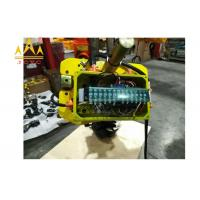 China Yellow Color Overhead 35 Ton Electric Chain Hoist With Excellent Performance wholesale