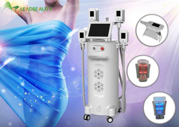 CE Cryolipolysis Slimming Machine for fat waist removal , -15°C~5°C temperature