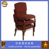 China Padded Stackable Chair Used In Church on sale