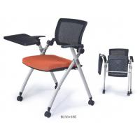 China commercial movable foldable chair with writing tablet wholesale